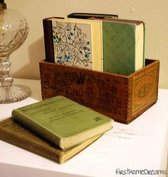 Pretty books, pretty box.