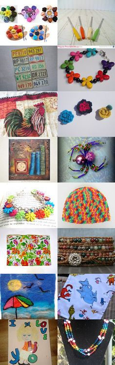A Painter's Palette by Nancy Eckert on Etsy--Pinned with TreasuryPin.com