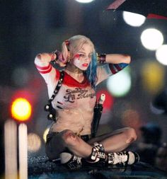Gonna be Harley Quinn from the Suicide Squad for Halloween!!