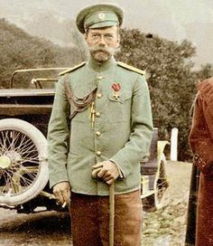 Tsar Nicholas II.  He was 50 years old at the time of his murder.  Only a year older than his father when he died from kidney failure.
