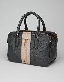Classic Chic with two-tone leather, Marc By Marc Roadster Satchel