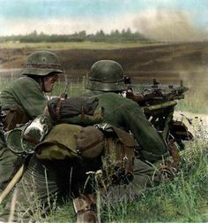 WH on eastern front.