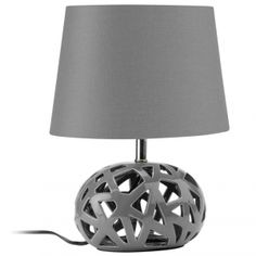 1000 images about lampes de chevet on pinterest rouge taupe and salons - Lampe de chevet grise ...