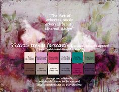 SS2015 trends forecasting for Women, Intimate Apparel - The Art of ethereal music, ethereal beauty, ethereal design. www.FashionWebGraphic.c...