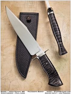 BladeForums BEST BOWIE - 2011 Edition. Beautiful work.