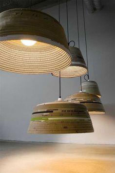 Luminária Pendente Beute por Michael Wolke