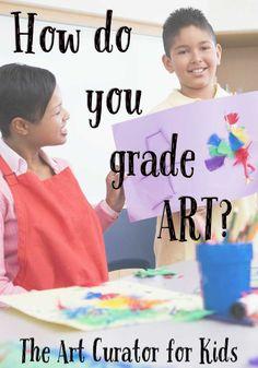 Art Teacher Tips: How do you grade art?