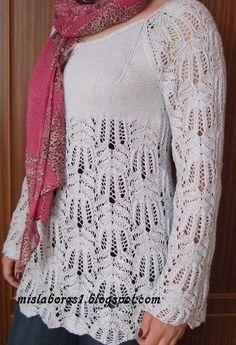 Lace Knitting, Knit Lace, Lana, Points, Motifs, Tops, Women, Christmas, Fashion