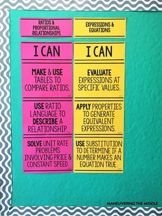 4 ideas to create classroom decorations on a budget. No need to spend hundreds of dollars decorating your classroom. Cheap and easy classroom decor! | maneuveringthemiddle.com