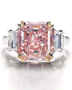 Pink diamond!  One to go please!!!  #rings