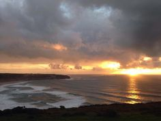 #HOTELS #SWD #GREEN2STAY Hotel Penzance Another golden end to the weekend, courtesy of Sennen Surf School Dave Muir
