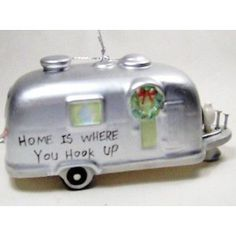 1000 images about christmas camping on pinterest for Airstream christmas decoration
