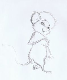 How do you design interesting looking mice for a new Disney animated feature, produced in the mid s. Disney Concept Art, Disney Fan Art, Disney Sketches, Disney Drawings, Drawing Sketches, My Drawings, Sketching, Bernardo Y Bianca, Character Concept
