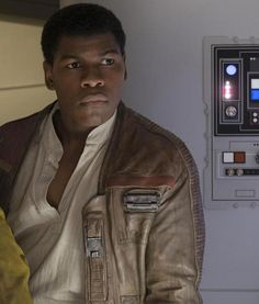 Star Wars The Force Awakens John Boyega Finn Jacket - Finn Star Wars - Ideas of Finn Star Wars - Finn Star Wars The Last Jedi Leather Jacket Finn Star Wars, Rey And Finn, Star Wars Sequel Trilogy, Star Wars Canon, John Boyega, War Film, Actor John, Star Wars Wallpaper, Tie Fighter