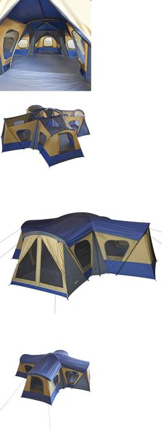 Tents 179010 Ozark Trail 14 Person 3 Room Cabin Tent Family Outdoor C&ing Shelter Gear  sc 1 st  Pinterest & Tents 179010: Ozark Trail 10 Person Instant Cabin Camping Outdoor ...