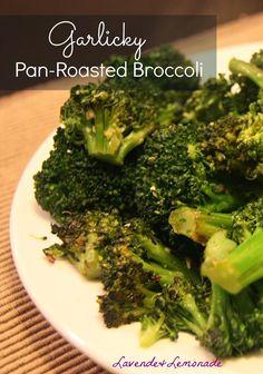 Garlicky Pan-Roasted Broccoli