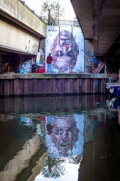 By Borondo #street #art #graffiti