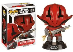 From Star Wars Episode The Force Awakens, Sidon Ithano, as a stylized POP vinyl from Funko! Collect and display all Star Wars The Force Awakens Pop! Batman Figures, Funko Pop Figures, Vinyl Figures, Action Figures, Funko Pop Star Wars, Star Wars Toys, Jouet Star Wars, Pop Art, Star Wars Vii