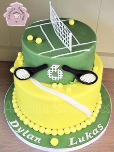 Tennis Cupcakes, Tennis Cake, Tennis Party, 70th Birthday Cake, Adult Birthday Cakes, Dad Cake, Sport Cakes, Horse Cake, Big Cakes