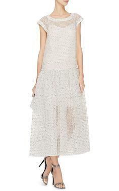 9bd6d13d26 Sheer Drop Waist Dress by Rochas Now Available on Moda Operandi Under  Dress