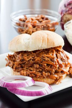 Biggest Loser Recipes | Barbecue Pork Sandwich