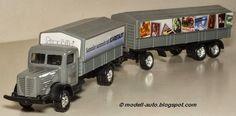 Mein Blog über Modellautos: Grell Modell LKW Lastwagen Anhänger Karstadt Decals China