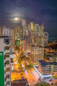 View from Casco Viejo backside towards Panama City