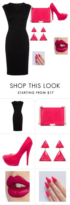"""""""Untitled #10"""" by lool-noo ❤ liked on Polyvore featuring Karen Millen, Sole Society, Casadei, Amrita Singh, Charlotte Tilbury, women's clothing, women's fashion, women, female and woman"""