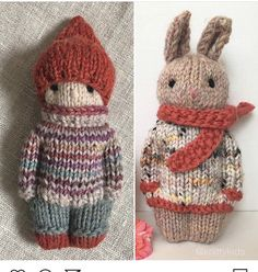 Knitted Doll Patterns, Knitted Dolls, Crochet Toys, Knitted Hats, Knitting Patterns, Knit Crochet, Crochet Patterns, Free Knitting, Baby Knitting