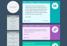 The best free WordPress themes, December 2013 photo