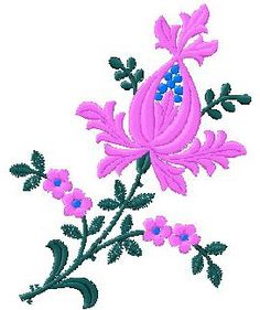 Floral Collection 412 | FREE Embroidery Designs | Floral, Baby, Ornament, and Neckline Embroidery Designs