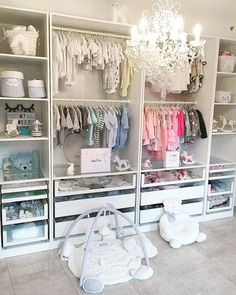 Now this is what we mean when we say #closetgoals! Such a sweet and #stylish space from @baby_mayssa August 29 2017 at 02:49PM