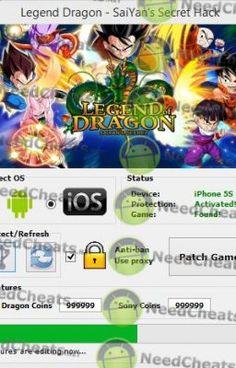 Download link: http://needcheats.net/legend-dragon-saiyans-secret-cheats-android-ios/