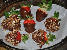 Secrets of a Foodie: Sugar Free Chocolate Covered Strawberries