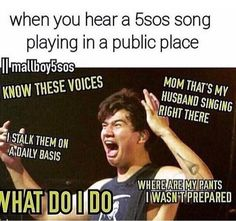 Seriously this was me the other day in Walgreens while walking around and singing to don't stop