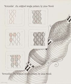Scrumble~Zentangle