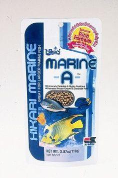 AQUATICS - FISH FOOD/FEEDERS - MARINE-A - 3.87 OZ - HIKARI SALES U.S.A,INC - UPC: 42055251211 - DEPT: AQUATIC PRODUCTS