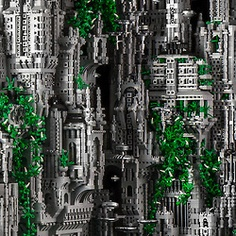 """A 200000 piece micro scale work of an other world city. Mike Doyle creates Contact 1 the first in a series of grand scale LEGO works """"celebrating extra terrestrial contact events, spiritual beings and unique worlds. Legos, Mike Doyle, Sci Fi City, Lego Sculptures, Lego Builder, Lego System, Lego Construction, Lego Castle, Colossal Art"""