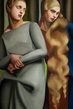Irene and Her Sister - Tamara de Lempicka
