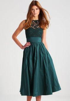 Swing - Cocktailkleid / festliches Kleid - tannengrün