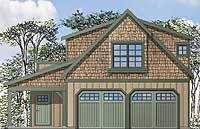 Craftsman Garage Apartment