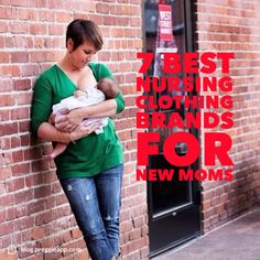 Breastfeeding is beautiful but finding beautiful nursing clothing can feel like a challenge. There are so many more options for moms who crave stylish fashion choices while breastfeeding. Here are our seven favorite brands that will help you be just. Breastfeeding Clothes, Breastfeeding Support, Nursing Clothes, Nursing Tank, Best Nursing Tops, Kids Clothing Brands List, Hippie Baby, Post Baby Body, Baby Momma