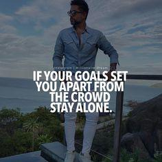 Millionaire motivation Stay Alone, Goals, Motivation, Instagram, Daily Motivation, Determination, Motivation Wall, Inspiration