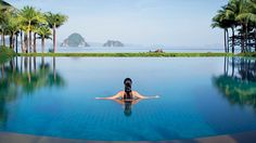 The pool at Phulay Bay Ritz-Carlton Reserve in Krabi, Thailand. Hotel Swimming Pool, Amazing Swimming Pools, Best Swimming, Hotel Pool, Thailand Honeymoon, Thailand Travel Guide, Krabi Thailand, Visit Thailand, Swimming Pools