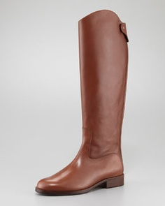 Chloe Zip-Back Riding Boot
