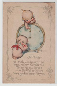 New Year Rose O'Neill's Merry Kewpies '25 K264 | eBay