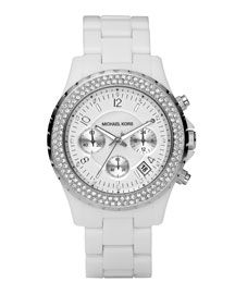 Michael Kors Watch w a second hand for my soon to be nursing career!!