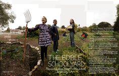 5 principles for  Edible Schoolyard.
