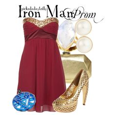 A fashion look from May 2013 featuring party dresses, metallic shoes and chain strap purse. Browse and shop related looks. Geek Chic Fashion, Cute Fashion, Fashion Outfits, Female Outfits, Man Fashion, Movie Inspired Outfits, Themed Outfits, Disney Inspired, Nerd Mode