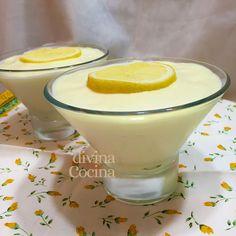 mousse de limon facil